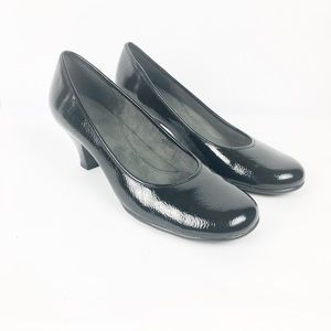 Aerosoles Patent Leather Low Heel Pumps Heels 9 M
